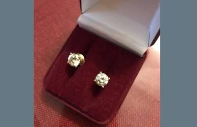 За подмену бриллиантовых сережек на бижутерию мужчине грозит 6 лет колонии