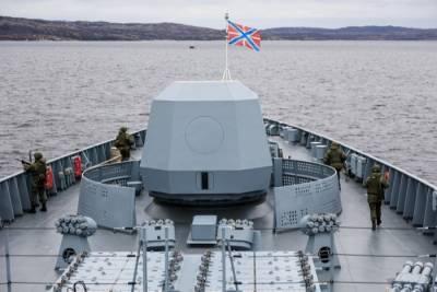 Северный флот в ходе учений отрабатывает оборону Арктики