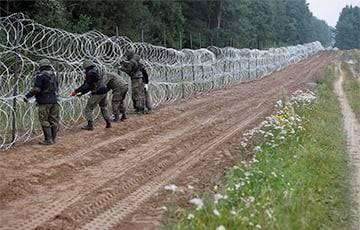 Польша построила 50 километров забора на белорусской границе