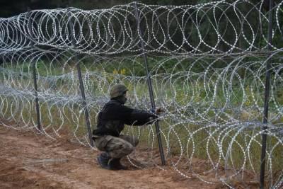 Польша построила 50 км забора на границе с Беларусью
