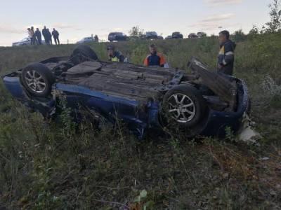 В Башкирии в аварии погибли два человека
