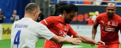 Сборная России обыграла Турцию в матче Кубка Легенд