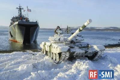 Северный флот России начал крупные учения в Арктике