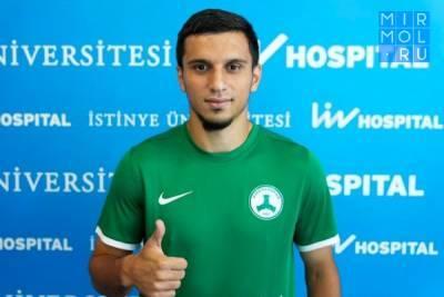 Магомед-Шапи Сулейманов перешел в турецкий «Гиресунспор»