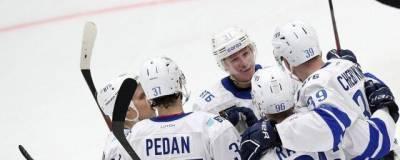 Московское «Динамо» обыграло «Амур» в матче КХЛ