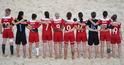 Женская сборная России по пляжному футболу победила в финале Евролиги