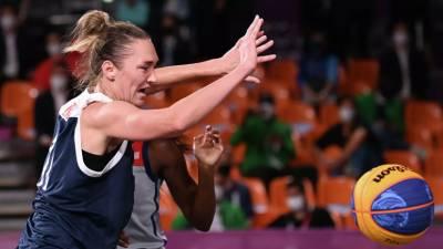 Женская сборная России проиграла в полуфинале Кубка Европы по баскетболу 3×3