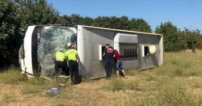 В аварии туристического автобуса в Турции пострадали 35 украинцев