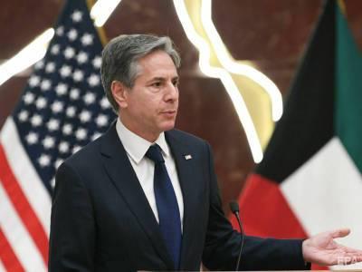 Блинкен заверил Украину в поддержке США