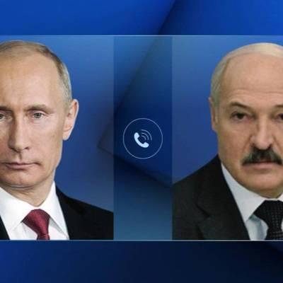 Путин провел телефонный разговор с президентом Белоруссии Александром Лукашенко