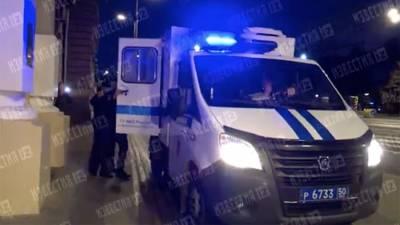 Задержанный после побега из изолятора Мавриди провел ночь в здании СК