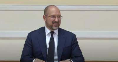 Шмыгаль улыбнулся в ответ на вопрос о переходе Украины на латиницу (ВИДЕО)