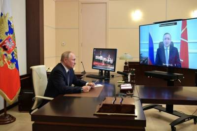 Путин: перерегистрация «Газпрома» даст Петербургу дополнительные деньги