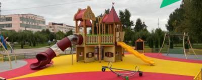 В Электрогорске в этом году установили три губернаторских детских площадки