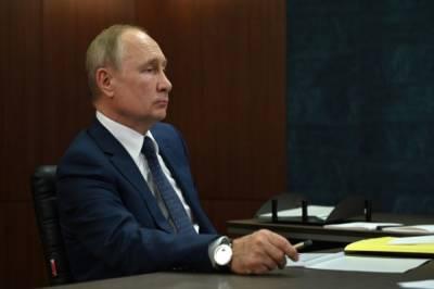 В Российском движении школьников сочли оговорку Путина неслучайной
