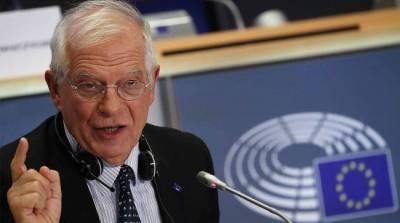 В ЕС приняли к сведению «серьезные нарушения» на выборах в России