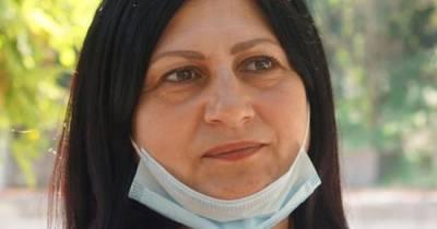 В Крыму оштрафовали мать задержанного крымского татарина за протест под зданием ФСБ