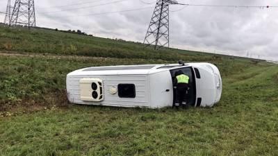 В результате в ДТП с автобусом в Вологодской области пострадали 11 человек
