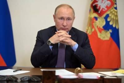 Путин сообщил о заражении коронавирусом нескольких десятков человек из своего окружения
