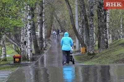 Жителей Коми предупредили о мокром снеге и дожде