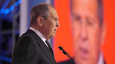 Глава МИД Франции сообщил о запланированной встрече с Лавровым