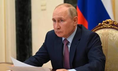 Путин рассказал о десятках заболевших ковидом в своем окружении