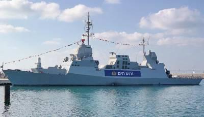 NR: На израильские корветы Sa'ar 6 установят систему ПРО «Железный купол»