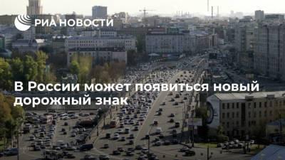 """Знак """"въезд беспилотникам запрещен"""" может появиться на российских дорогах в 2025 году"""