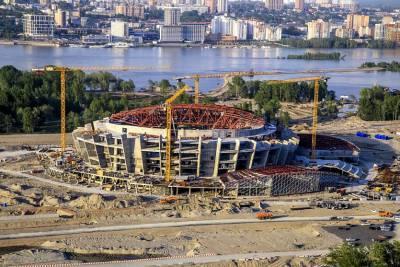 Осужденных привлекли к работам по строительству ледовой арены в Новосибирске