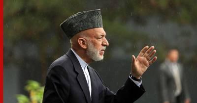 Экс-президент Афганистана Хамид Карзай встретился с представителями России, Пакистана и КНР