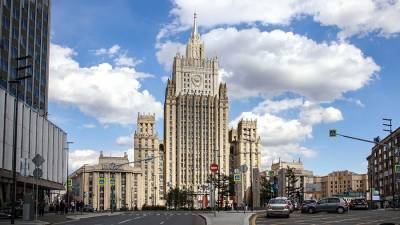 МИД РФ пообещал ответить на заявление Анкары о непризнании выборов в Крыму
