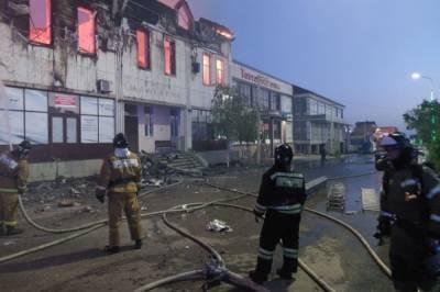В Дагестане два человека стали жертвами пожара в гостинице