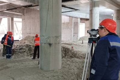 Осужденных привлекли к работам на строительстве новой ледовой арены в Новосибирске