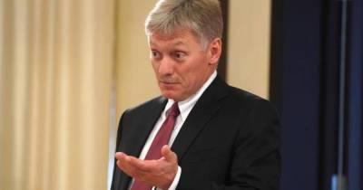 Песков рассказал о состоянии заболевших COVID в окружении Путина