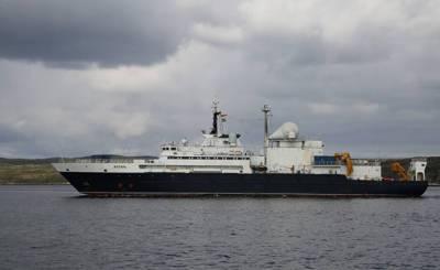 Российский корабль-шпион в Ла-Манше: судно, перекусывающее подводные интернет-кабели, замечено у берегов Великобритании (Daily Mail, Великобритания)
