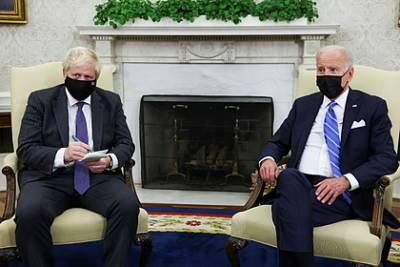 Джонсон и Байден обсудили подход к России и Китаю
