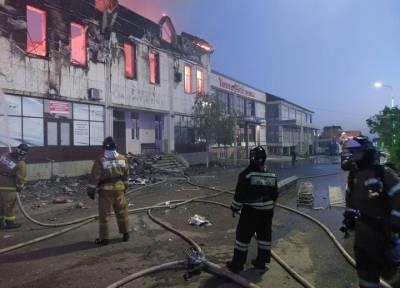 Два человека погибли и шестеро пострадали при пожаре в гостинице в Дагестане