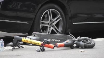Два автомобиля столкнулись на юго-востоке Москвы