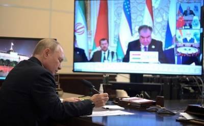 Путин назвал главам стран ШОС сумму, направленную на поддержку населения