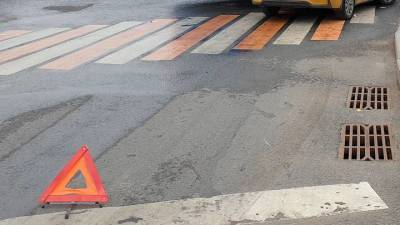 Авария с участием пешехода произошла в центре Москвы
