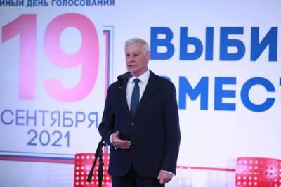 Свежая явка по Липецкой области – 35,49%