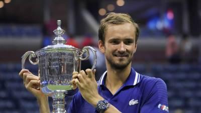 Медведев рассказал о своих целях после победы на US Open