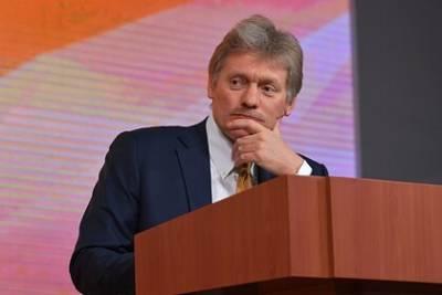 Песков рассказал о заболевших COVID-19 в окружении Путина