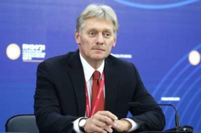 Песков прокомментировал вероятность встречи Путина и Зеленского