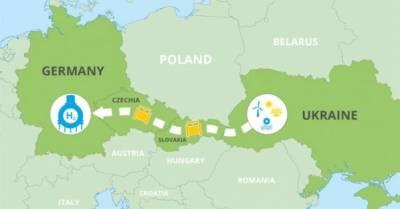 """""""Водородный коридор"""" может появиться между Украиной и Германией: он пройдет по 4 странам"""