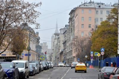 Транспортное движение ограничат с 1 октября на некоторых улицах в центре Москвы
