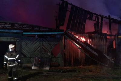 Двое детей погибли при пожаре в селе возле Екатеринбурга