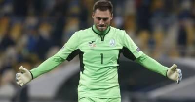В сборную Украины довызвали нового вратаря