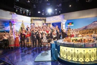 Жители Коми спели и провели обряд с бубном для Леонида Якубовича на «Поле чудес» в честь 100-летия региона