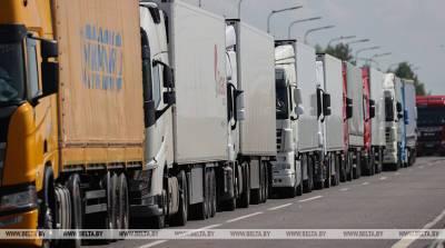 Выезда из Беларуси в ЕС на границе ожидают более 1,2 тыс. фур